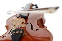 Violine auf Weiß (Serien) Lizenzfreie Stockbilder
