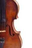 Violine d'isolement Photo stock