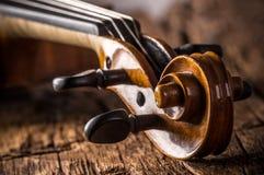 Violine in der Weinleseart lizenzfreies stockfoto