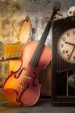 Violine - Stillleben Stockbild