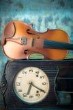Violine - Stillleben Lizenzfreie Stockfotos