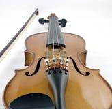 Violine und Bogen Lizenzfreies Stockfoto