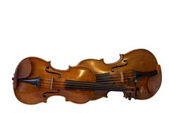 Violine und Viola Stockfoto