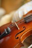 Violine und Zeichenketten Lizenzfreie Stockfotografie