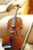 Violine zu Hause Stockfotografie