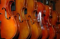 Violinen Stockbild
