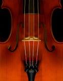 Violinen-Nahaufnahme Lizenzfreies Stockfoto