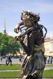 Violinen-Spieler Stockbild