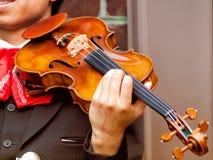 Violinen-Spieler Stockfotos