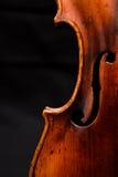 Violinendetail Lizenzfreies Stockfoto