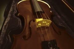 Violinenhintergrund Lizenzfreies Stockfoto