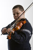Violinenjunge Stockfotos