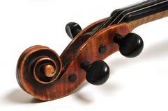 Violinenkopf Stockfotos