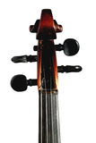 Violinenrolle Stockfotografie