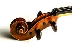 Violinenrolle Lizenzfreies Stockbild