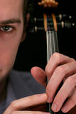 Violinenspieler Stockfoto