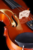 Violinenzeichenkette Stockfotografie