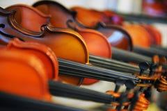 Violines hechos a mano Imágenes de archivo libres de regalías