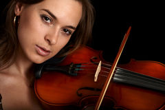 Violinist Stock Images