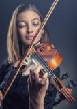 violinist Foto de Stock Royalty Free