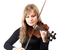 Violinist Stock Image