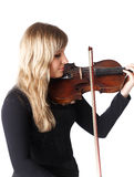 Violinist Stock Photography