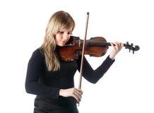 Violinist Lizenzfreie Stockfotos