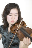 Violinist 2. Playing royalty free stock image