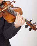 The violinist Stock Image