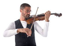 violinist Fotografering för Bildbyråer