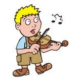 violinist illustration de vecteur