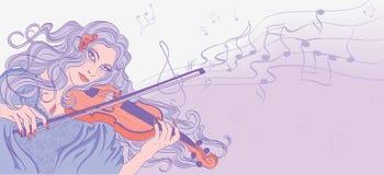 violinist Images libres de droits