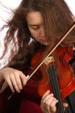 Violinist lizenzfreie stockbilder