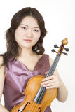 Violinist 7. Portrait royalty free stock photography