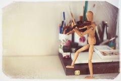 violinist Fotografie Stock Libere da Diritti