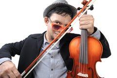 Violinist Royalty Free Stock Photo