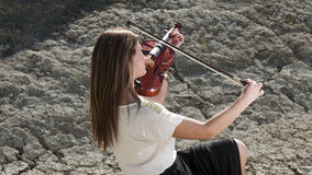 Violinist Royalty Free Stock Image