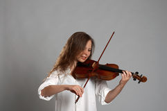 Violinist Royalty Free Stock Images