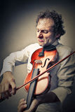 A violinist Stock Image