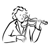 Violinist Stock Photos