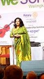 Violinist and vocalist Sunita Bhuyan Stock Photos