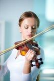 Violinista Fotografia de Stock