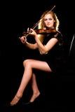 Violinista imagens de stock