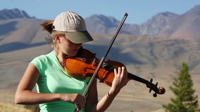 violinista metrajes