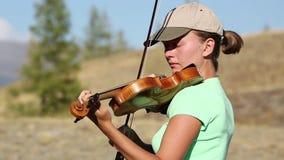 violinista almacen de video