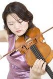 Violinista 6 Foto de archivo libre de regalías
