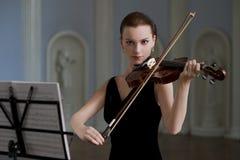 Violinista Immagini Stock