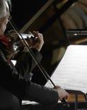 Violinista del solista Foto de archivo