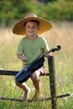 Violinista joven Fotos de archivo libres de regalías