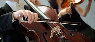 Violinistas Fotografia de Stock Royalty Free